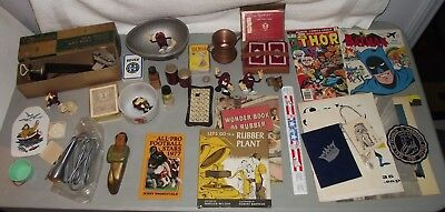 Lot of Random Vintage Stuff Weird Things Misc. Collectibles Junk Drawer-ish
