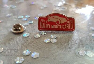 Pin's Rallye Monte-Carlo 2001 / Car Monaco 2001 Pin Badge A.c.m.