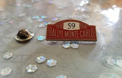 Pin's Rallye Monte-Carlo 1991 / Car Monaco 1991 Pin Badge A.c.m.
