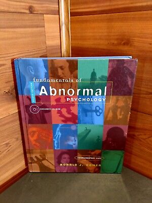 "2Nd Edition ""fundamentals Of Abnormal Psychology"" By Ronald J. Comer"