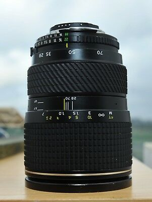 Tokina AT-X PRO AF 28-70MM 1.28 , used in working condition