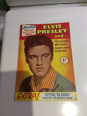 Elvis Presley Mirabelle Magazine From The 1950s Rare