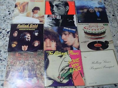 Rolling Stones 10 Lps -  Beetween The Buttons - Sticky Fingers - Let It Bleed