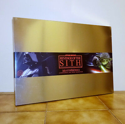 Masterworks Lithographic Art Print Collection 1 Star Wars Rots Metal Tin Coffret