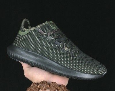 ADIDAS Originals Tubular Shadow Sneaker Knit Mens green camo size 11.5