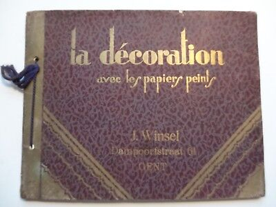 Upl Ca 1928 Papier Peint Wonderfull Old Catalog Wallpaper Tapete Winsel Gent
