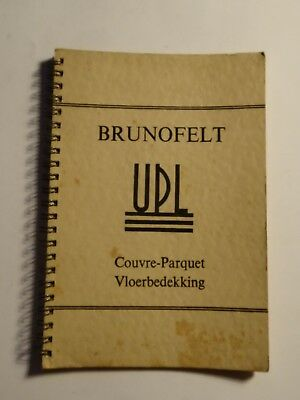 Upl Brunofelt Kirkcaldy Printed Old Catalogue Ca 50's Vieux Catalogue Alt Katalo