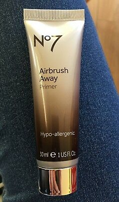 Boots No7 Airbrush Away Primer 30ml New/Sealed