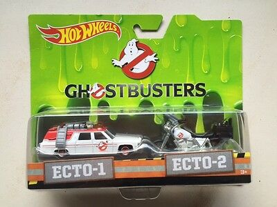 Hot Wheels Ghostbusters Entertainment ECTO-1 Retro Pop Real Riders Movie US