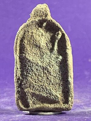 Unusual Ancient Egyptian Priestess Offering Of A Gift Amulet Circa 715-332Bce