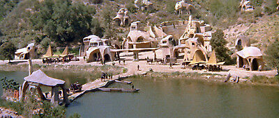 1968's PLANET OF THE APES ape city overview color 6x10 scene