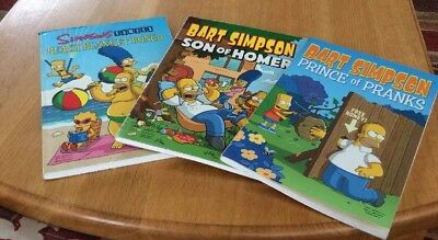 1 Simpsons & 2 Bart Simpson Comic Books