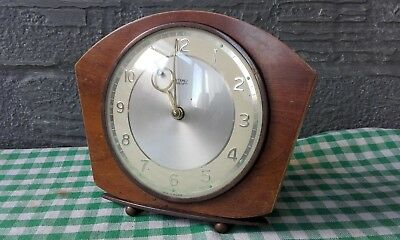 Vintage, retro METAMEC Electric mantel clock, made in England. (project)