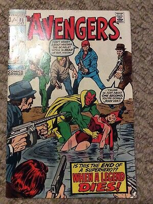 The Avengers #81 October 1970