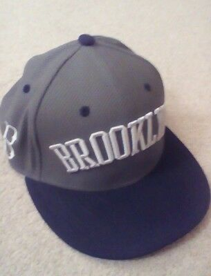 BRAND NEW Brooklyn Dodgers baseball hat, adult size small-medium, adjustable