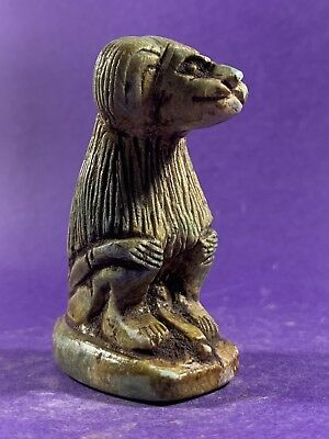 Beautiful -Circa 715-332Bc Ancient Egyptian Babi Baboon God Fertility Statuette