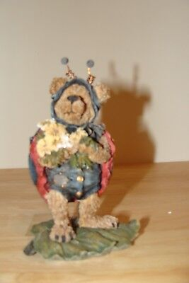 """Boyds Bears & Friends """"Tweedle Bedeedle...Stop and Smell the Flowers""""  #227730"""