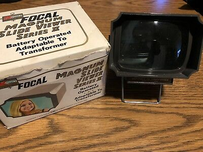 Focal Magnum Series 2 Slide Viewer, with Original Box