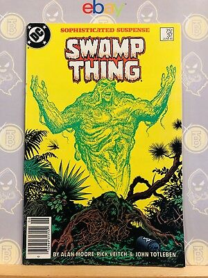 Swamp Thing #37 (8.5) VF+ 1st Appearance of John Constantine Hellblazer 1985