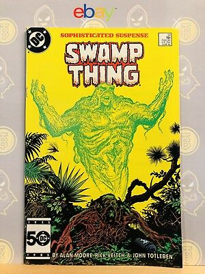Swamp Thing #37 (9.0) VF/NM 1st Appearance of John Constantine Hellblazer 1985