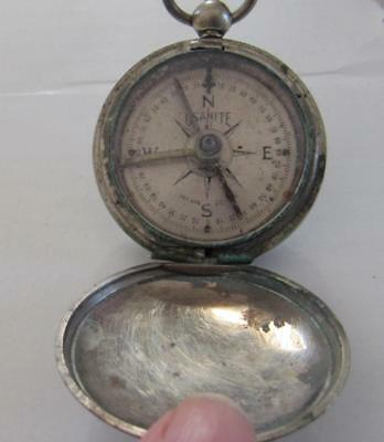 Antique Military Compass..usanite..eng. Dept. Usa 1918