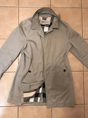 fe03d08db8 Originaler Burberry Brit Herren Mantel Trenchcoat Jacke Größe XL in Beige