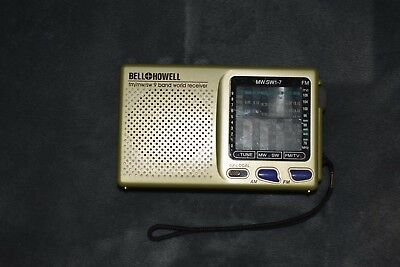 Bell Howell 9 Band World Receiver (Working!)