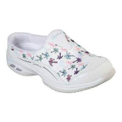 Skechers Women's   Relaxed Fit Commute Time Palm Tree Holiday Mule