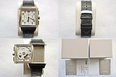 Jaeger LeCoultre JLC Reverso Squadra GMT Home Time Chronograph Automatic Watch