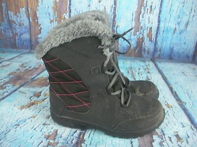 bfe8769663a Columbia Ice Maiden Black Insulated Winter Waterproof Boots BY1331 Women s 6