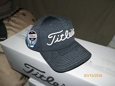 1 NEW TITLEIST Golf Players Deep Back Space Dye Hat Black M L TH7FDFSD Pro  V1 -  19.99  ed17b541bbc