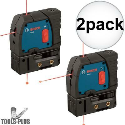 Bosch GPL3-rt Reconditioned 3-Point Self-Leveling Alignment Laser 2x