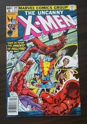 UNCANNY X-MEN # 129 high grade1ST appearance EMMA FROST, SEBASTIAN SHAW, Kitty