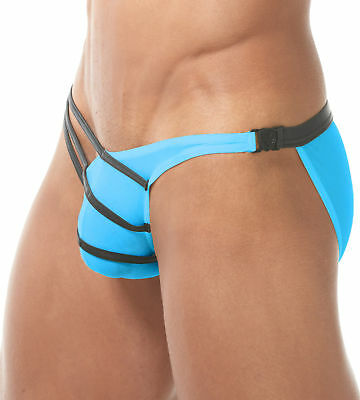 Gregg Homme Grip Detachable Mens Briefs Intimo Maschile  Aqua Slip 150203  135
