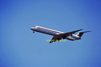 Continental DC9     Denver CO    Kodacrome original slide   5/92