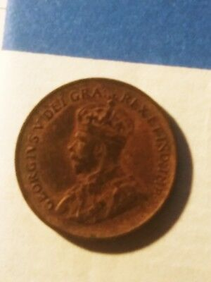 1933 Canadian Penny Small Cent FANTASTIC COIN!