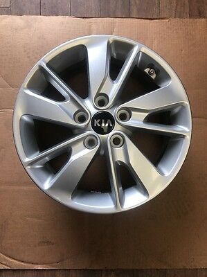 "KIA OPTIMA 16X6.5/"" SILVER FACTORY ORIGINAL WHEEL RIM 74637 5 miles"