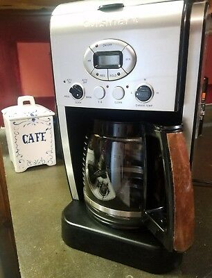 Cuisinart Dcc 2600 Brew Central 14 Cup Programmable Coffee Maker Excellent
