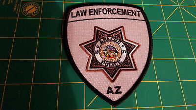 White Mountain Tribe APACHE Law Enforcement Police Patch Only 27 Sworn Officers