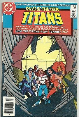 TALES of the TEEN TITANS #53 Solid NM- May 1985 Issue! DC Comics