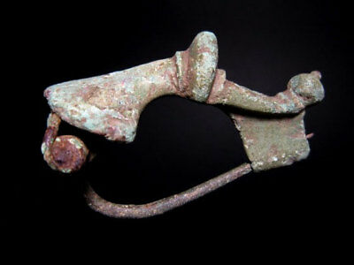 EARLY ROMAN PERIOD Bronze FIBULAE , VERY RARE TYPE+++TOP Condition+++