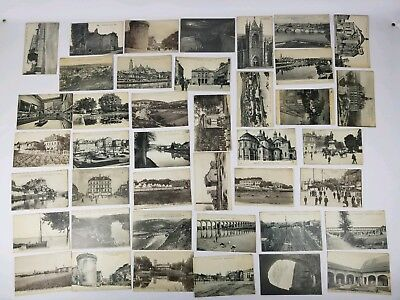 Lot of 41 Antique vintage French France Postcards Limoges Perigueux Perigord #3