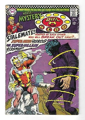 The HOUSE OF MYSTERY no.168 SILVER AGE DC COMIC BOOK Manhunter from Mars 1967