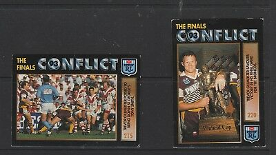 N.R.L. Collector Cards 2 x Kerrod Walters Broncos Card No. 219.  See photo