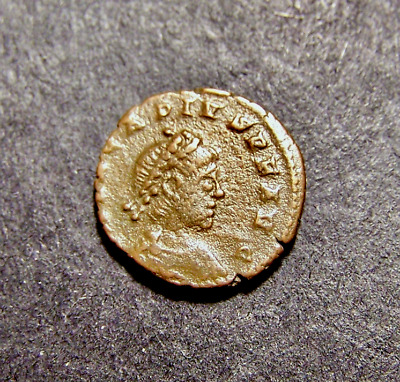 ARCADIUS, Victory Drags Captive, Christian Cross, Imperial Roman Emperor Coin