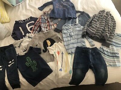 Boy's Clothing Bundle Size 18-24 Months