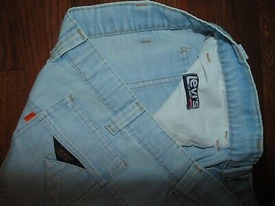 VINTAGE LEVI'S JEANS ORANGE TAB  Talon 42  SF 207  Wide Leg Bell Bottom  Size 36