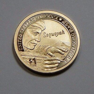 2017-S 225th Anniversary Enhanced Uncirculated Native American Dollar Coin