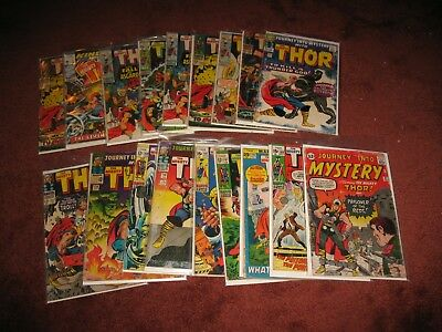 Huge Lot (35) Marvel Silver Age Comics all ~THOR ~Journey into Mystery #87