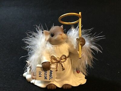 """Cute Charming Tails You're my Little Angel in Training"""" Mouse Figurine"""